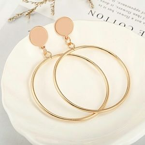 Jewelry - 2 for 1 Gold Minimalist Fashion Earrings